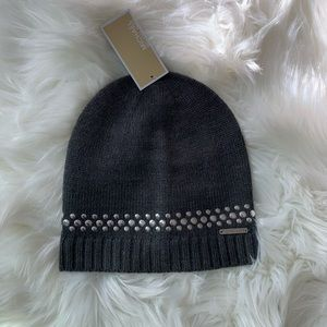 MICHAEL KORS Studded Knit Beannie